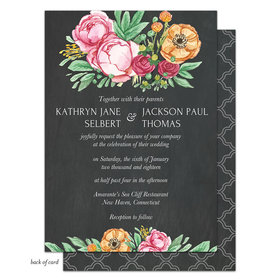 Bonnie Marcus Collection Personalized Elegant Bouquet Invitation