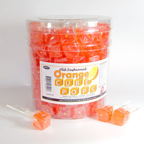 Orange Cube Pops (100 Pack)