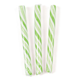 Light Green Apple Candy Sticks