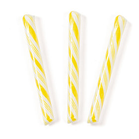 Yellow Banana Candy Sticks