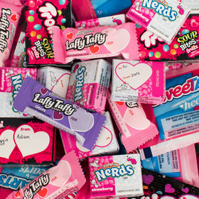 Trolli, Nerds, SweeTarts & Laffy Taffy Valentine Exchange Candy