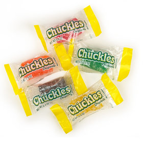 Original Retro Chuckles Jelly Candy Wrapped