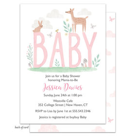 Bonnie Marcus Collection Personalized Forest Fun Invitation