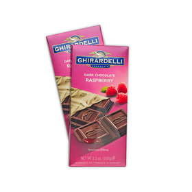 Ghirardelli Dark Raspberry Chocolate Bars
