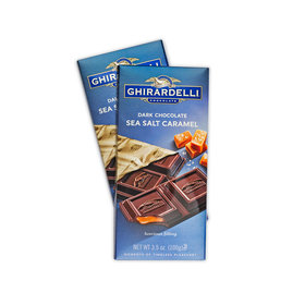 Ghirardelli Dark Sea Salt Caramel Chocolate Bars