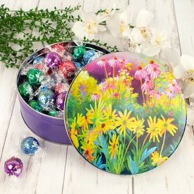 Sunset Garden Easter Gift Tin Lindt Truffles (45pcs)
