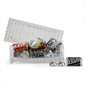 Crystal Candy Box Assorted Hershey's Chocolate