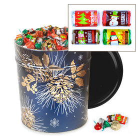 Glowing Pine 20 lb Hershey's Holiday Mix Tin