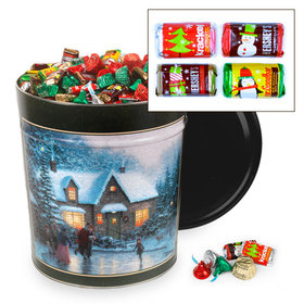 Skater's Pond 20 lb Hershey's Holiday Mix Tin