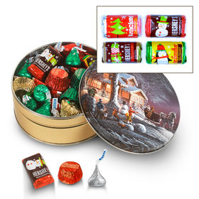 Sweet Winter 3/4 lb Hershey's Holiday Mix Tin