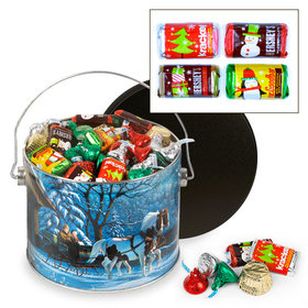 Through the Woods 3.5 lb Hershey's Holiday Mix Tin