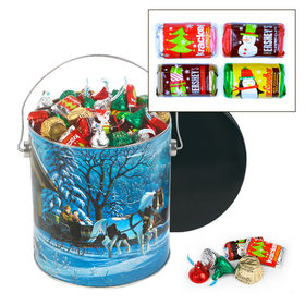 Through the Woods 5 lb Hershey's Holiday Mix Tin
