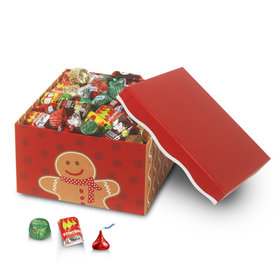 Can't Catch Me Gingerbread Lg 5lb Hershey's Holiday Mix Box