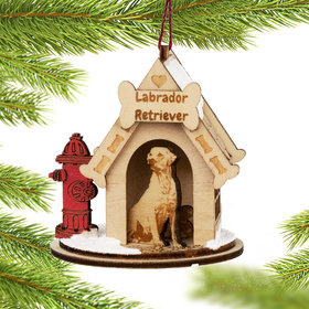 Labrador Retriever Doghouse