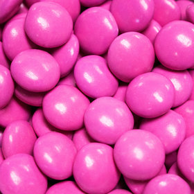 Just Candy Hot Pink Milk Chocolate Minis