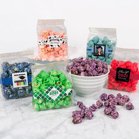 Personalized Graduation Candy Coated Popcorn 3.5 oz Bags