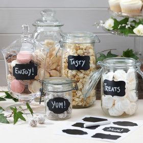 Vintage Affair Chalk Board Label Stickers