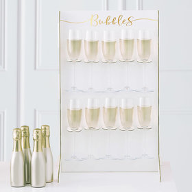 Prosecco Bubbly Drinks Wall Holder