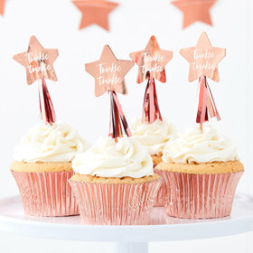 Twinkle Twinkle - Cupcake Toppers