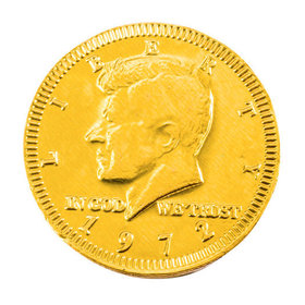 Fresch Milk Chocolate Coins Gold Foil