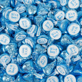 It's A Boy Blue Hershey's Kisses Candy