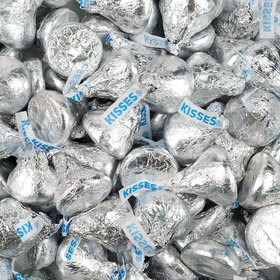 Hershey's Kisses Silver Foil Candy