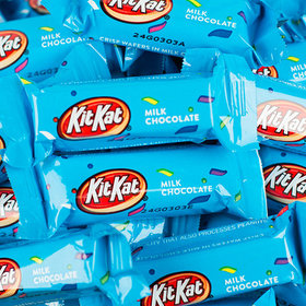 Light Blue Kit Kat Snack Size Crisp Wafers
