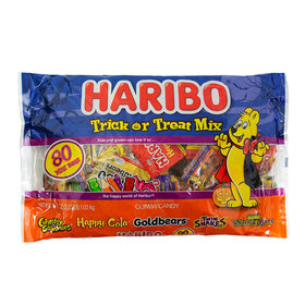 Haribo Trick or Treat Mix Gummies - 80 Count