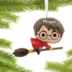 Personalized Harry Potter on Broom