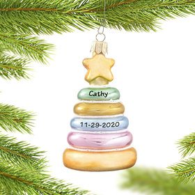 Personalized Baby Stacker