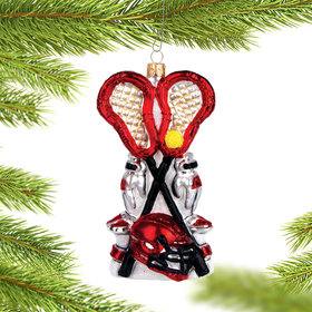 Personalized Pair of Lacrosse Sticks