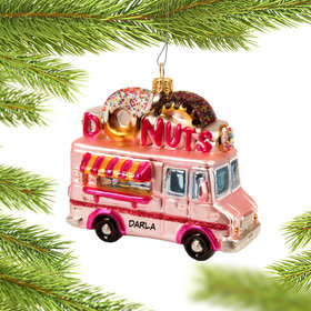 Personalized Donut Truck