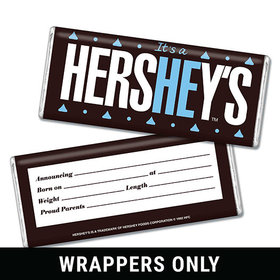 It's a He Personalized Candy Bar - Wrapper Only