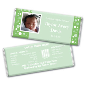His Snapshot Personalized Candy Bar - Wrapper Only