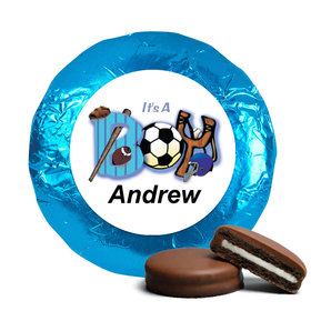 All Sports Personalized Belgian Chocolate Covered Oreo Cookies Assembled