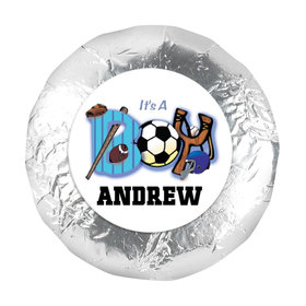 "All Sports Personalized 1.25"" Sticker (48 Stickers)"