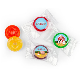 Baby Barnyard Personalized Baby Boy LifeSavers 5 Flavor Hard Candy Assembled