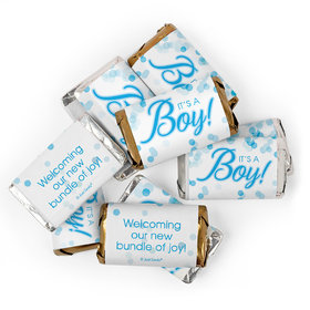 It's a Boy Baby Shower Candy Hershey's Miniatures Chocolate 2lb
