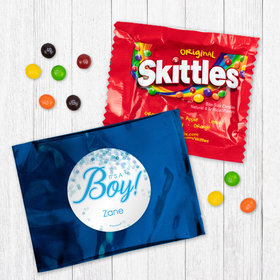 Personalized Boy Birth Announcement It's A Boy Bubbles - Skittles