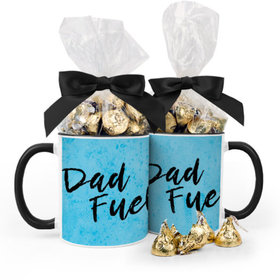 Baby Boy Announcement Dad Fuel 11oz Mug with Hershey's Kisses
