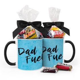 Baby Boy Announcement Dad Fuel 11oz Mug with Hershey's Miniatures