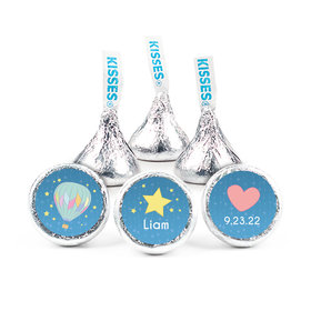 """Personalized 3/4"""" Stickers - Birth Announcement It's A Boy I Have Arrived (108 Stickers)"""