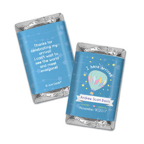 Personalized Hershey's Miniatures - Juliana Da Costa Birth Announcement It's a Boy I have Arrived