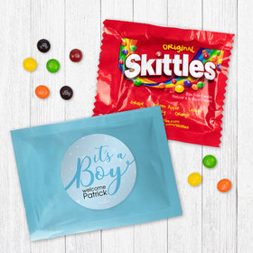 Personalized Boy Birth Announcement It's a Boy - Skittles