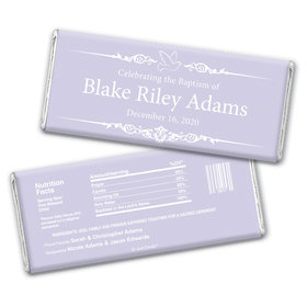 Blessed Baptism Personalized Candy Bar - Wrapper Only