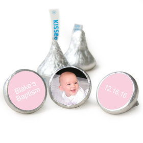 Add Your Photo Baptism HERSHEY'S KISSES Candy Assembled