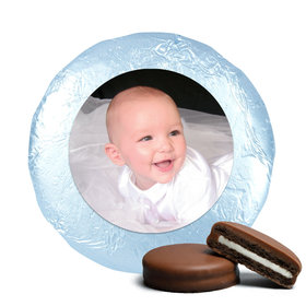 Baptism Cute Pic Belgian Chocolate Covered Oreo Cookies Assembled (24 Pack)