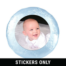"Baptism Cute Pic 1.25"" Sticker (48 Stickers)"