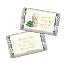 Candle Light Personalized Miniature Wrappers