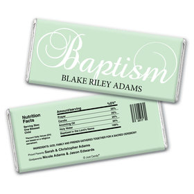 First Sacrament Personalized Candy Bar - Wrapper Only
